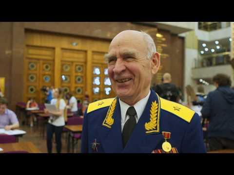 Смотреть Всероссийский исторический «Диктант Победы» прочитал 7 мая 2019 года С.Е. Нарышкин онлайн
