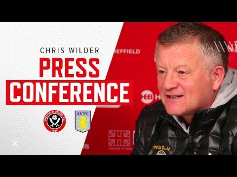 Chris Wilder | Sheffield United v Aston Villa | Pre-match press conference