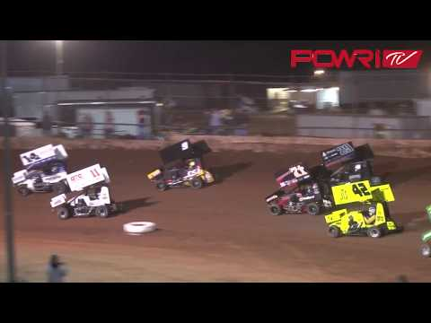 POWRI Speedway Motors Micro Sprint League A-Main Highlights from I-44 Riverside Speedway 3-23-18