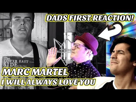 Marc Martel - I Will Always Love You (Dolly Parton Cover) | Reaction