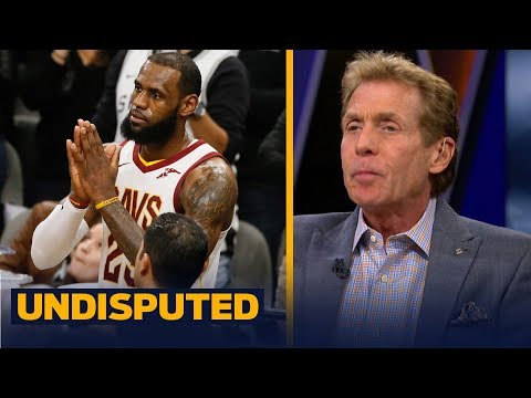Skip and Shannon disagree on LeBron's 30K point celebration while the Cavs struggle | UNDISPUTED