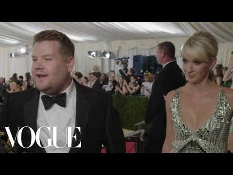 James Corden on Carpool Karaoke and Being Anna Wintour's Favorite Comedian | Met Gala 2016