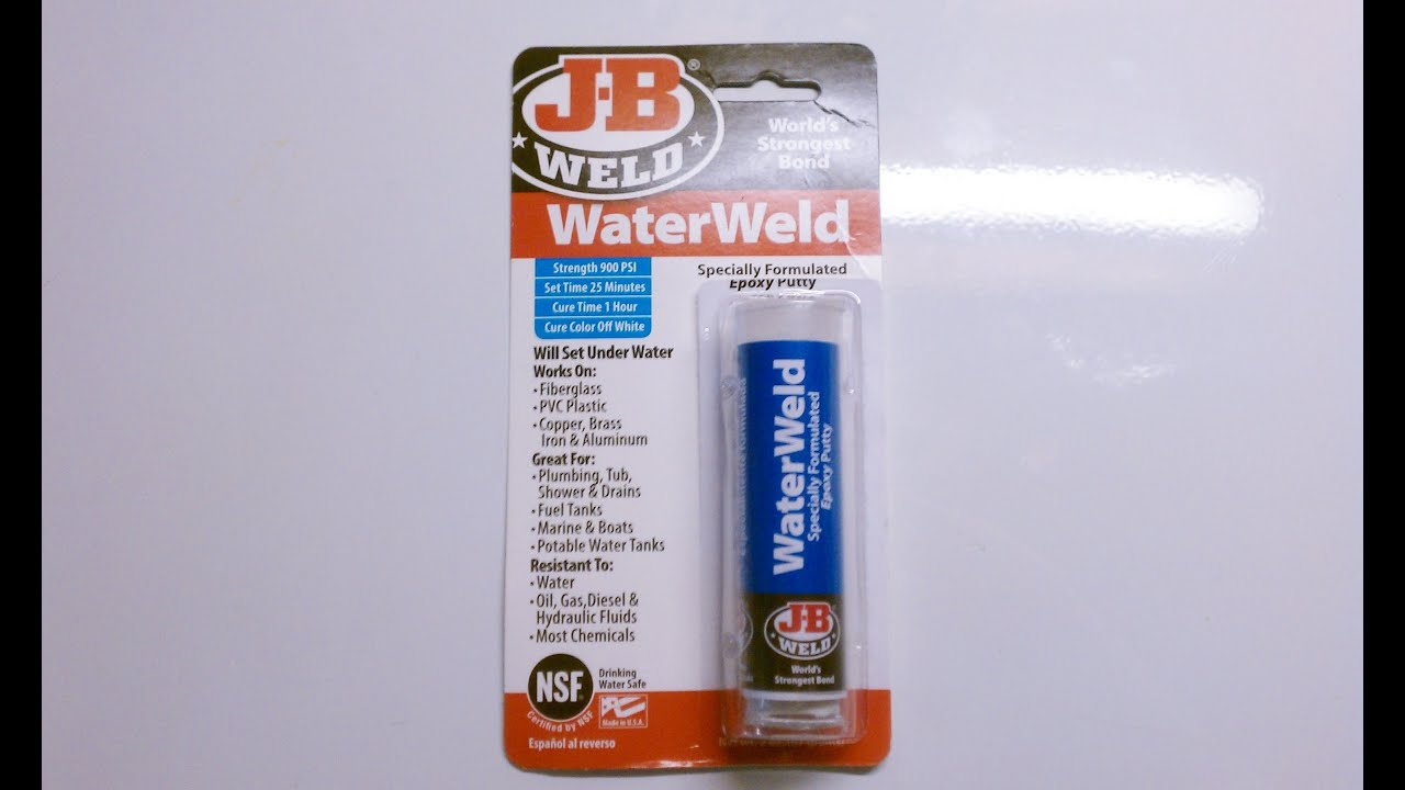 JB Water Weld Test & Review