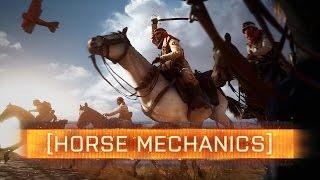 ► HORSE MECHANICS! (Healing, Attacks & Realism) - Battlefield 1