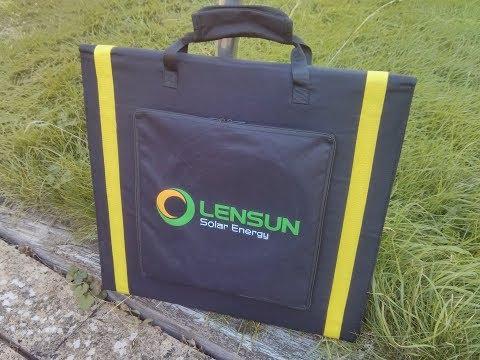 Julian's Review: Lensun 160W Folding Solar Panel