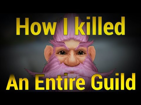 How I killed an entire WoW Guild