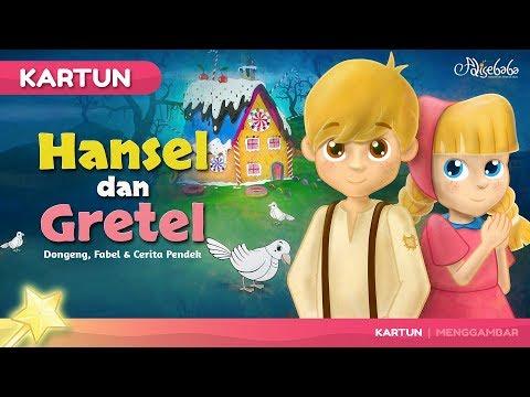 Hansel dan Gretel Cerita Untuk Anak anak - Animasi Kartun Bahasa Indonesia