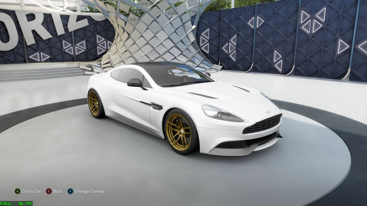 Forza Horizon 3 2012 Aston Martin Vanquish Customize And Drive Youtube