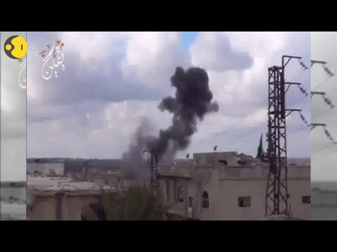 Watch: Syria's Deraa city hit by air strikes for third consecutive day