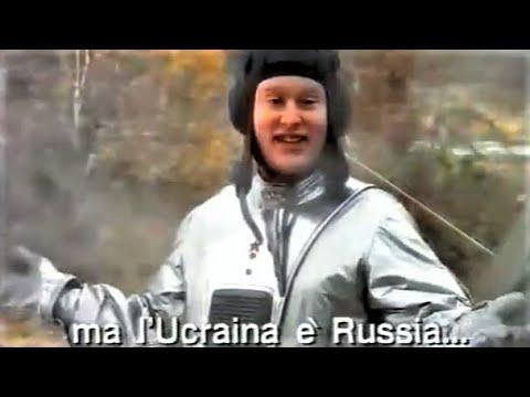 Spot - ATLANTE Geografico Corriere della SERA - ASTRONAUTA RUSSO -1995  1 vers.