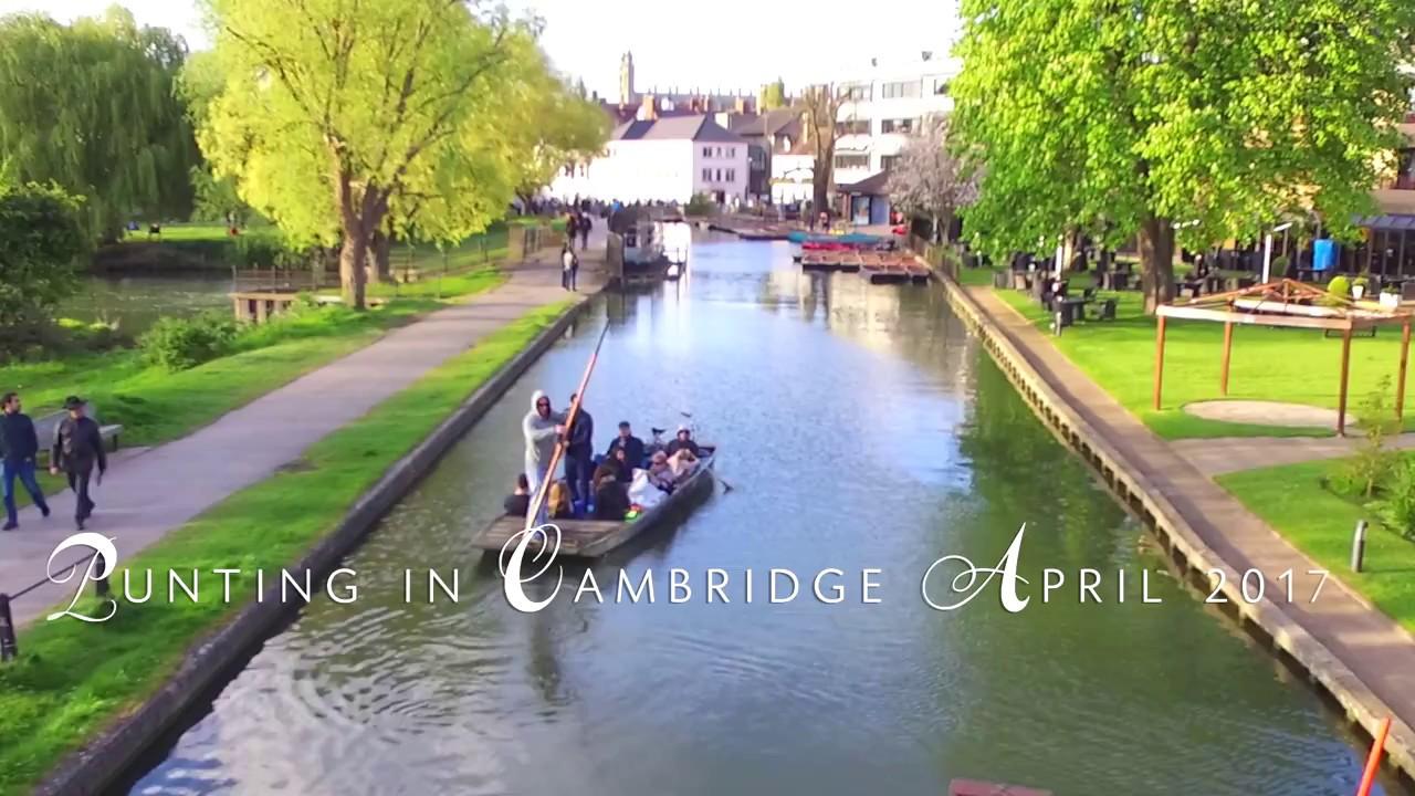 Cambridge Punting April 2017