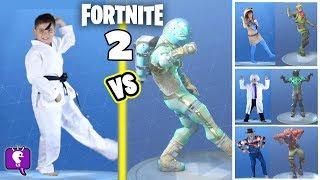 FORTNITE DANCE Challenge 2 by HobbyKidsTV