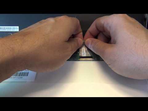 Toshiba Satellite C55 C55D Laptop Screen Replacement Procedure
