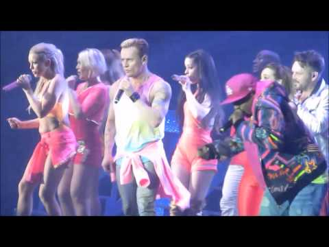 S CLUB 7 (REACH FOR THE STARS) NEWCASTLE 10/5/15