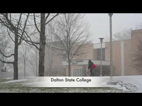 Snow in Whitfield County and Dalton, Ga. - Jan 29, 2010