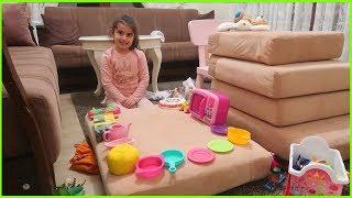RÜya Oyuncaklari İle Ev Ve Mutfak Kuruyor L Çocuk Vİdeosu