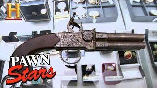 Pawn Stars: Rick's RISKY DEAL for FLAWED Pistol (Season 6) | History