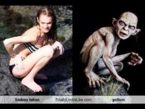 creepy star look alikes   youtube