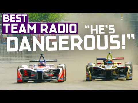 """That Was Risky!"" Best Team Radio | 2018 Qatar Airways New York City E-Prix (Saturday)"