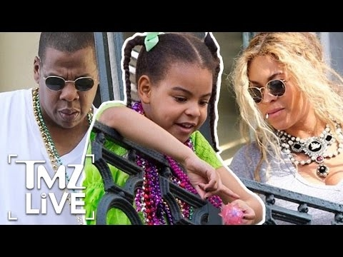 Jay Z, Beyonce and Blue Ivy Party Mardi Gras Style | TMZ Live