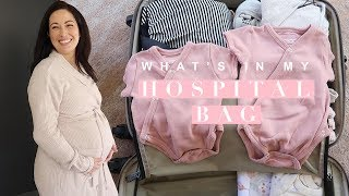 What's in My Hospital Bag? C-Section Edition!   Susan Yara