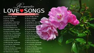Most Old Love Songs 70's 80's By Mariah Carey, Celine Dion, Whitney Houston 💚The Best Songs Of World