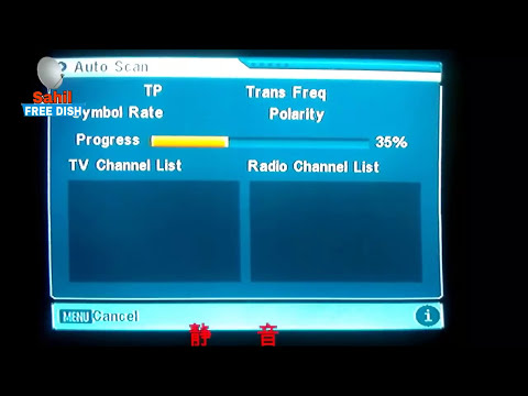 Telstar 138 East dish setting and full tv channel list by Sahil Free dish