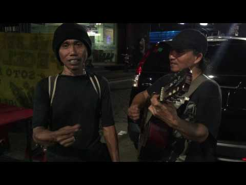 Musisi Jakarta Cover | All I Have To Do Is Dream - Everly Brothers | Pengamen Bersuara Indah