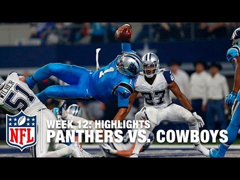 Panthers vs. Cowboys | Week 12 Highlights | NFL