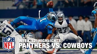 Panthers vs. Cowboys   Week 12 Highlights   NFL
