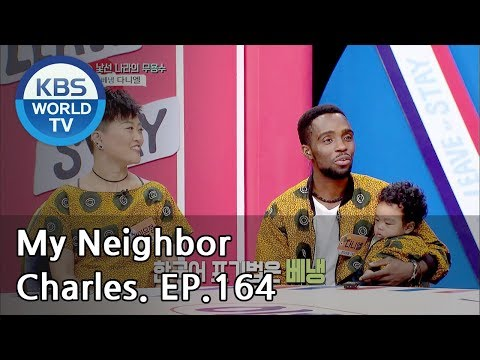 My Neighbor,Charles|이웃집 찰스 Ep164/Daniel&Eunjung house's like a small Africa in Korea[ENG/2018.11.26]