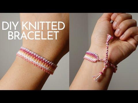 Friendship Bracelet Knitted Like Youtube