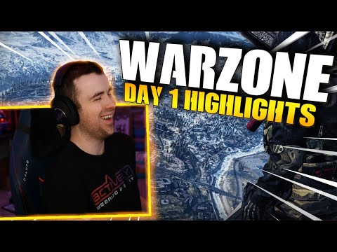 Call Of Duty: Warzone - Day 1 Highlights!