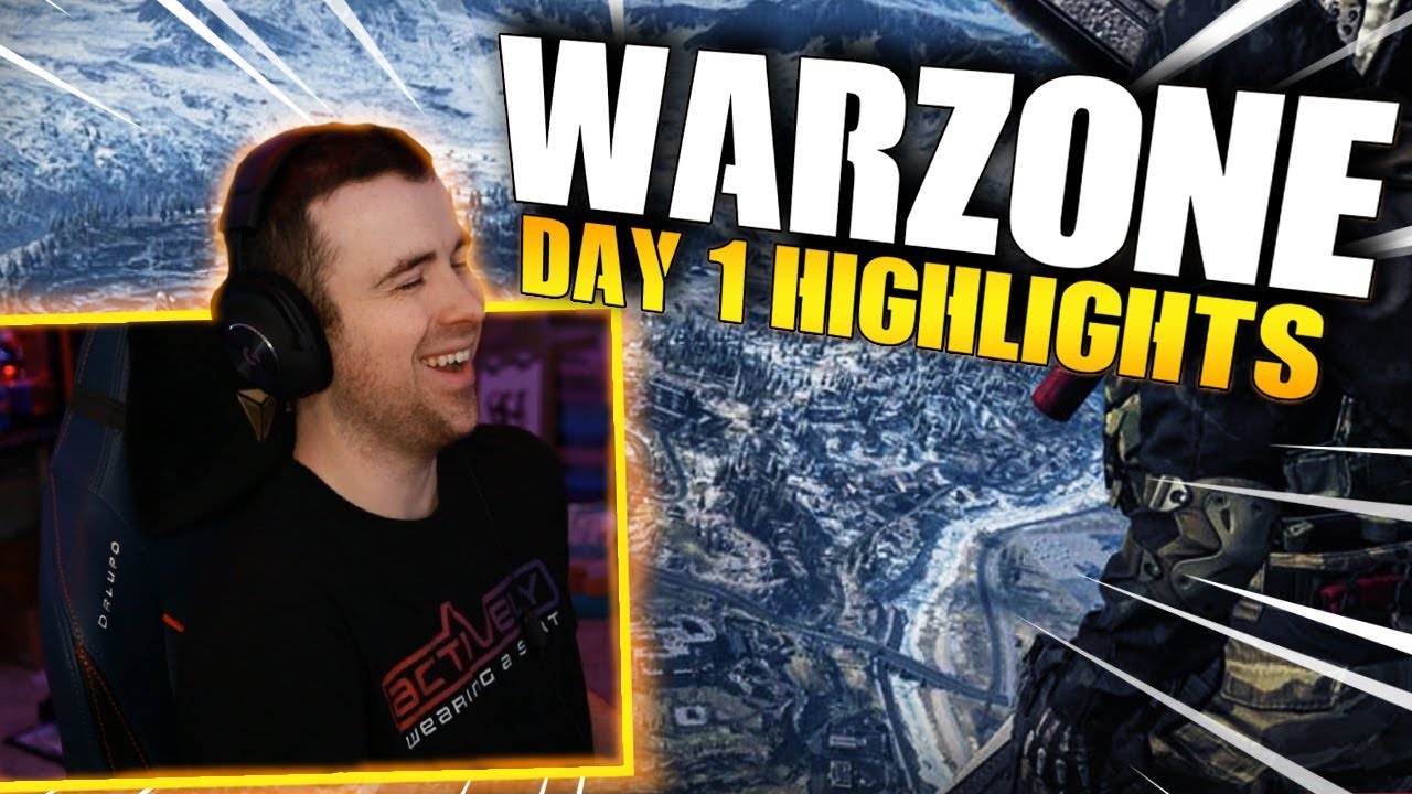 Call Of Duty: Warzone – Day 1 Highlights!