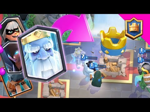 ROYAL GHOST BRIDGE SPAM! MOST META ROYAL GHOST DECK! - Clash Royale