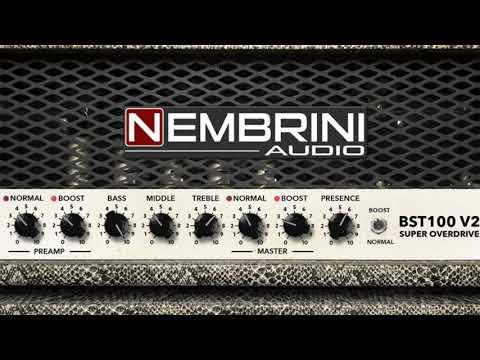BST100 V2 Super Overdrive Guitar Amplifier Plugin