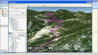 Using Garmin Basecamp in conjunction with Google Earth Free HD Video