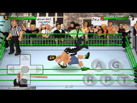 Wr2d wwe mod Ken Anderson vs The Icon Sting