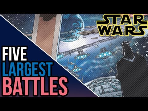 Top 5 Largest Space Battles of the Galactic Civil War  Star Wars Legends Top 5