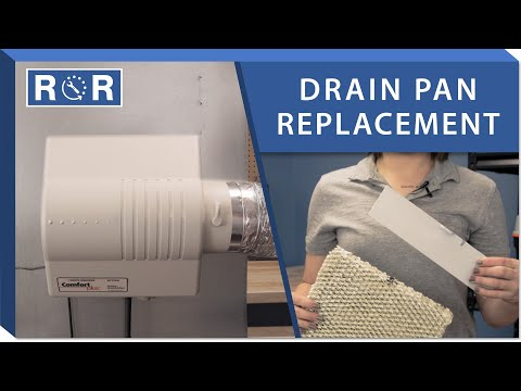 Humidifier Drip Tray: Repair And Replace (White Rodgers HFT2100)
