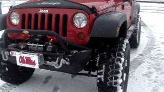 2009 Jeep Wranger Rubicon with 37 1/2 Tires 6 inch Lift.......