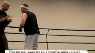 Coach Rick Boxing Rhythm Mayweather Style Boxing Mittwork / Jab-Circle-Feint / Jab Stop Hit training