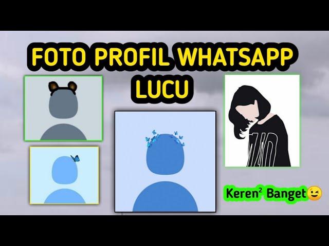 Batas jumlah karakter untuk nama adalah 25 karakter. Cara Mendapatkan Foto Profil Whatsapp Keren Dan Lucu Youtube