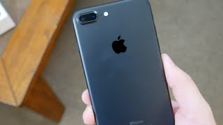 iPhone 7 Plus Matte Black Unboxing, Setup and First Impressions!
