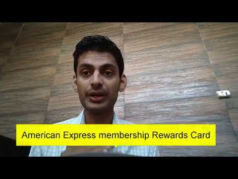 (FULL DETAILS) American Express Credit Card - Membership Rewards Credit Card Fees & Charges in Hindi