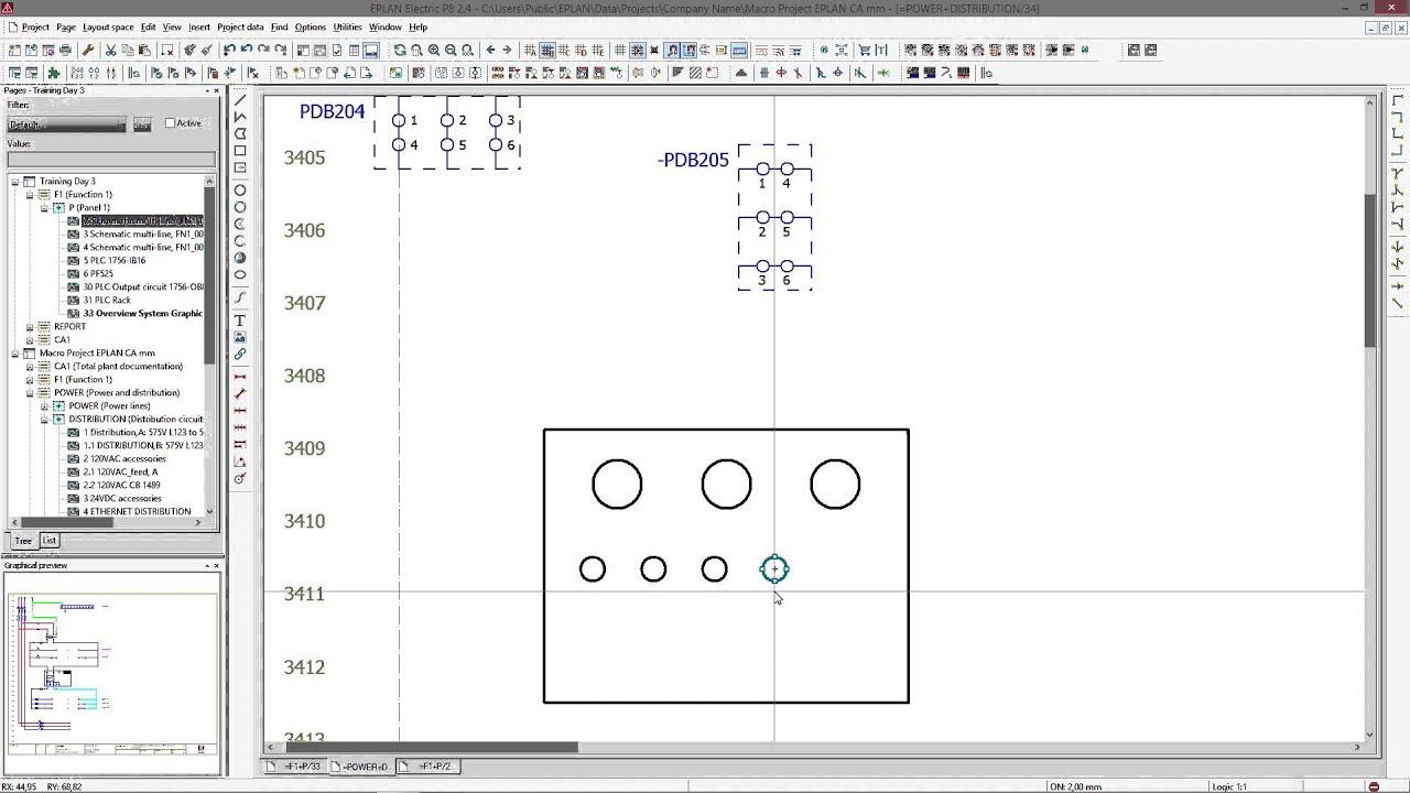 eplan tutorial macro iv