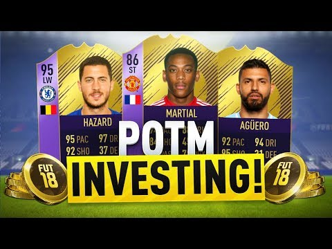 HOW TO INVEST FOR THE JANUARY POTM! FIFA 18 ULTIMATE TEAM TRADING METHOD