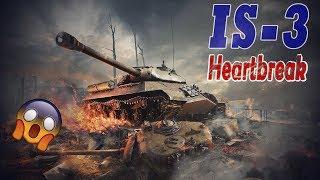 WOT Blitz | IS-3 Epic Game ( Heartbreak )