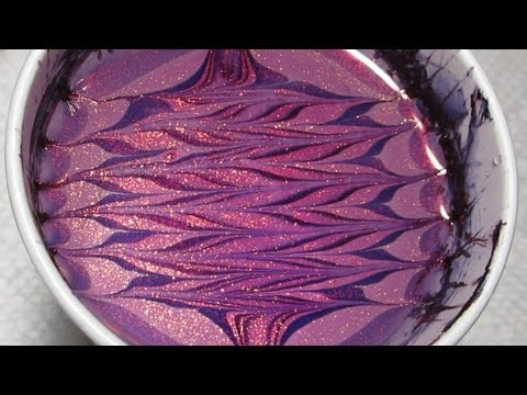 Opi Ombre Water Marble Nail Art Tutorial Youtube
