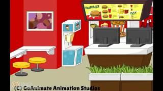 Inside Cartoon Restaurant 1